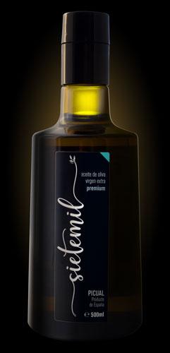 Aceite de Oliva Virgen Extra-Sietemil-PREMIUM-500ml